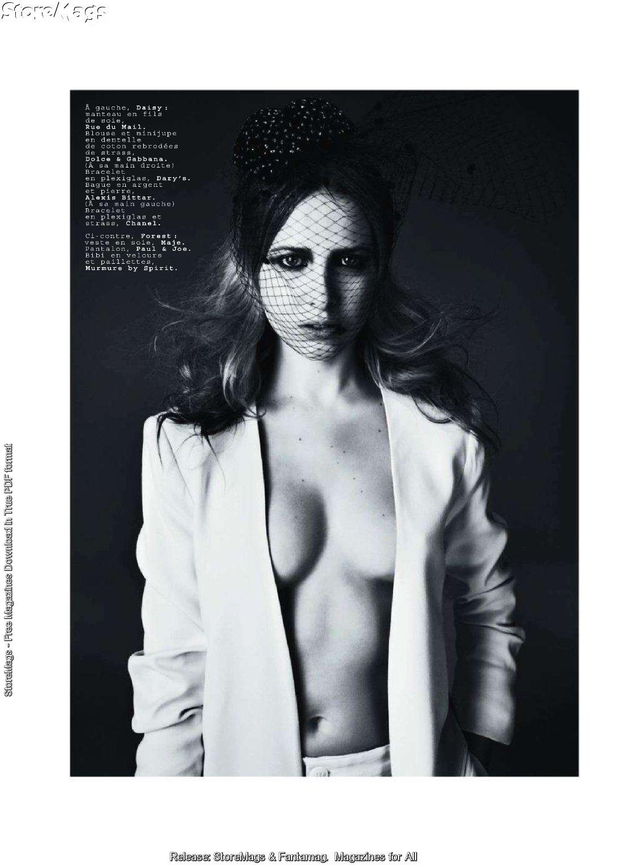Дэйзи Лоу (Daisy Lowe) фото в журнале Jalouse Франция, февраль 2011