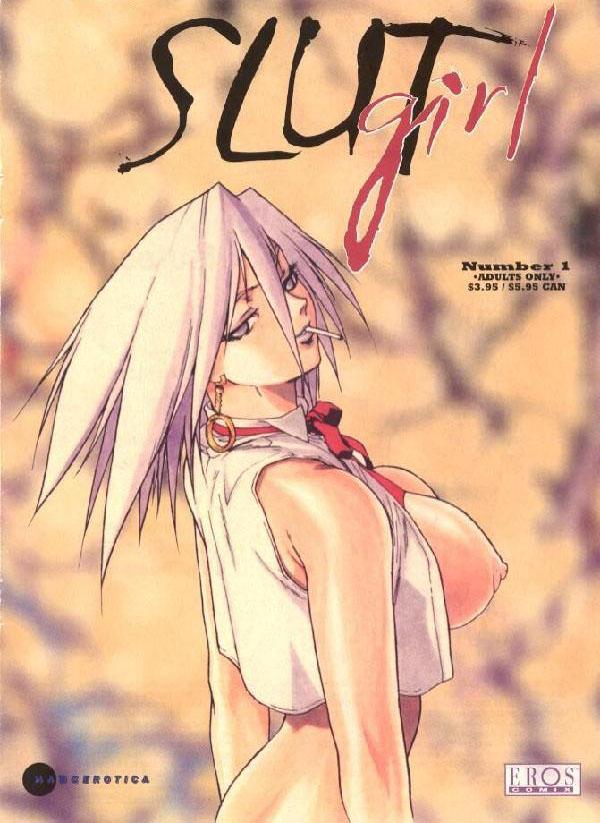 Slut Girl, cómic hentai 1