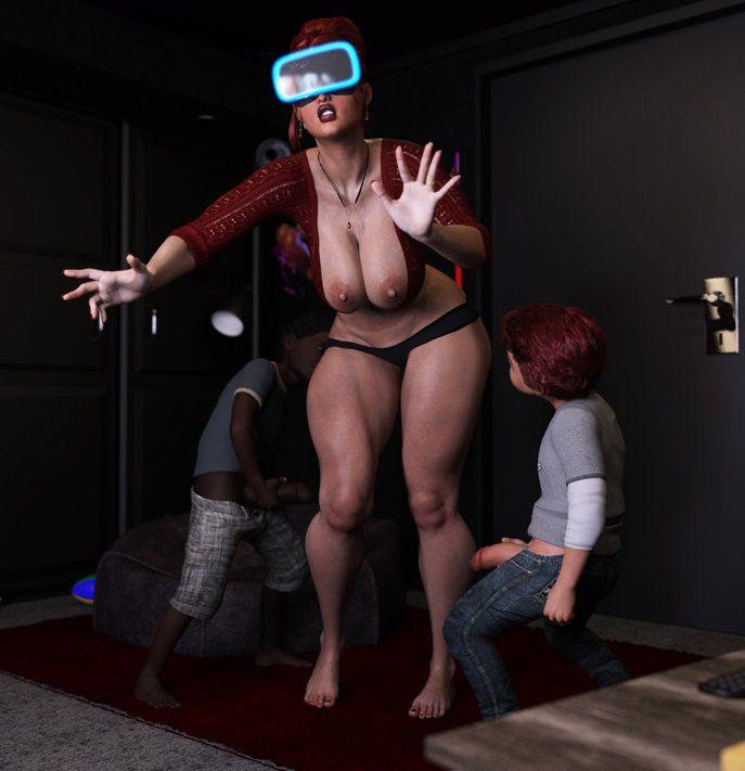 American girl blackmail mom porn