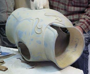Processo de criação da Armadura de Gemeos para a exibição de Pachinko 7QLqU4vD