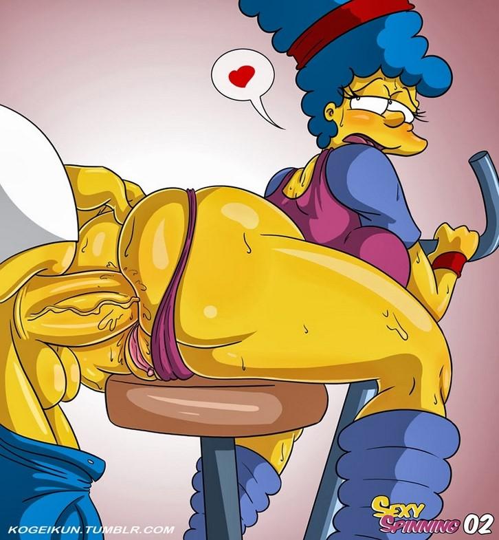 Marge simpson porno con todos are not