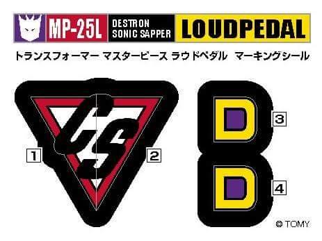 [Masterpiece] MP-25L LoudPedal (Rouge) + MP-26 Road Rage (Noir) ― aka Tracks/Le Sillage Diaclone - Page 2 XqiyzXSW