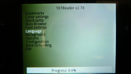 Obraz TXTReader - Screen 01