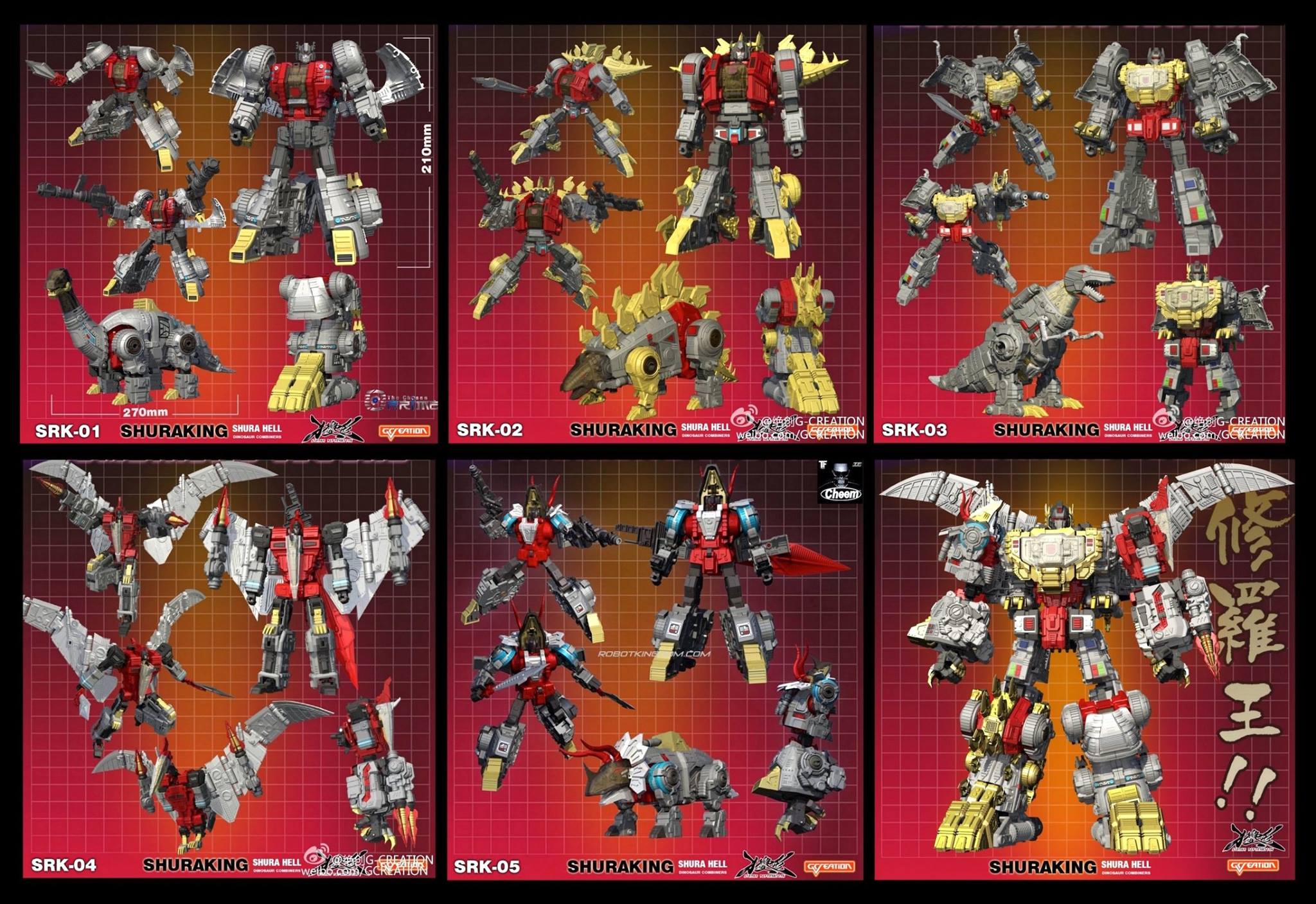 [GCreation] Produit Tiers - Jouet ShuraKing - aka Combiner Dinobots - Page 4 OXwCZJ0j
