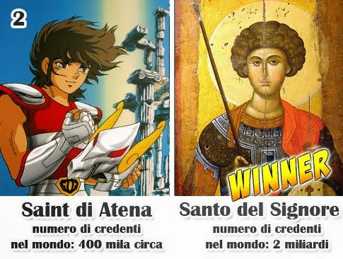 San Giorgio meglio di Seiya!