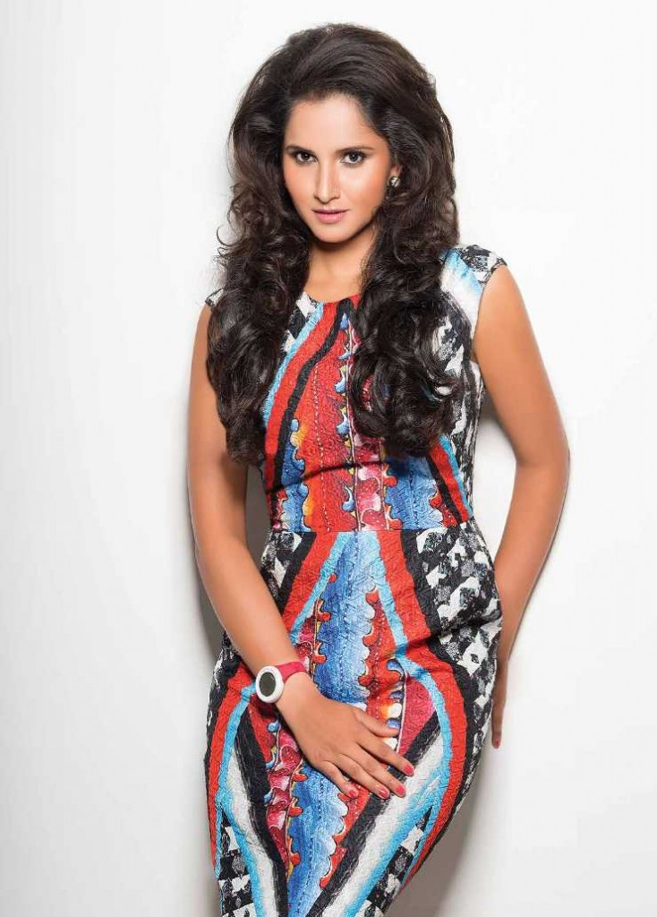 Sania Mirza Exhibit Magazine images August 2013 5 images Ady7TVYF