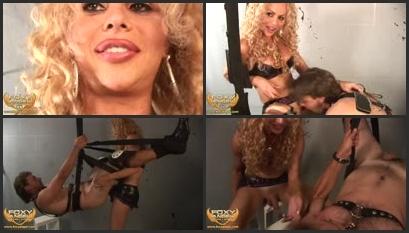 Carli nude video shower
