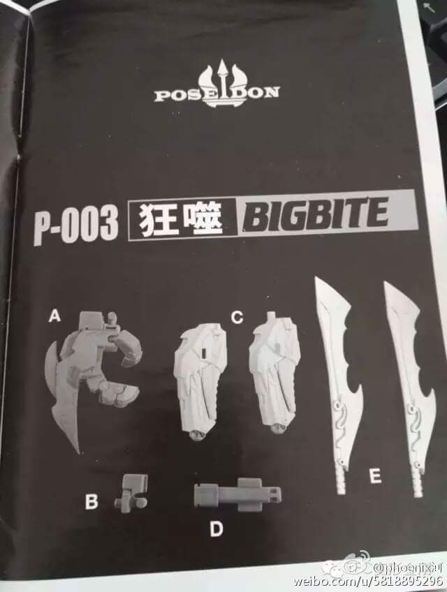 [TFC Toys] Produit Tiers - Jouet Poseidon - aka Piranacon/King Poseidon (TF Masterforce) - Page 2 BWaH60TJ