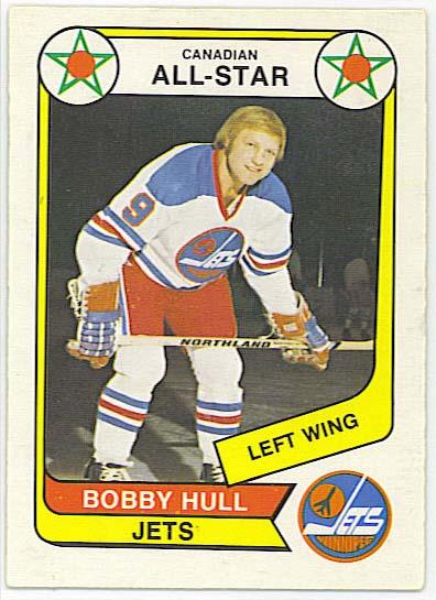Bobby Hull AS - 1976-77 OPC WHA