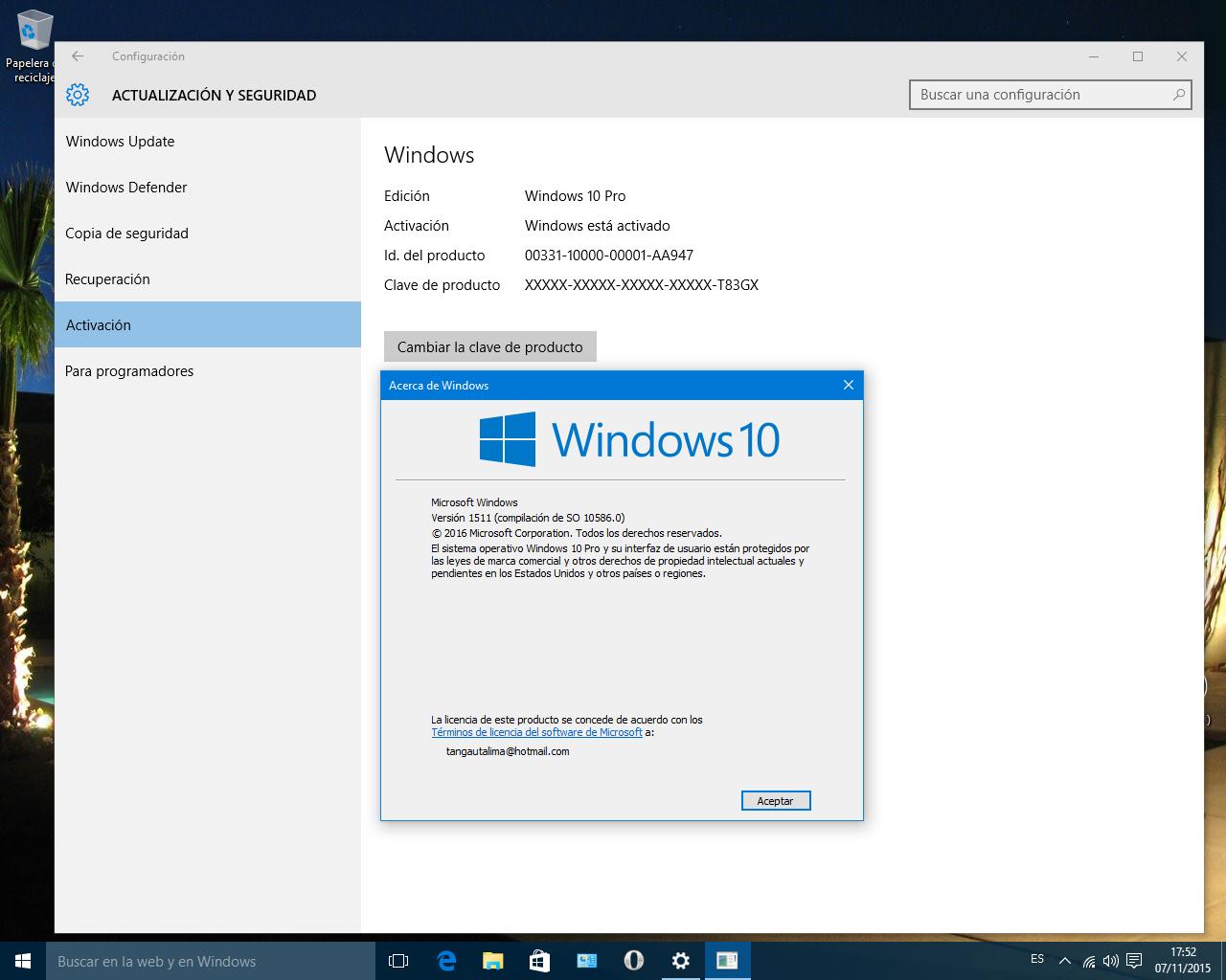 Windows 10 Pro Final Original Microsoft Vlsc: Windows 10 Build 10586 Iso Final X32/64 Bits