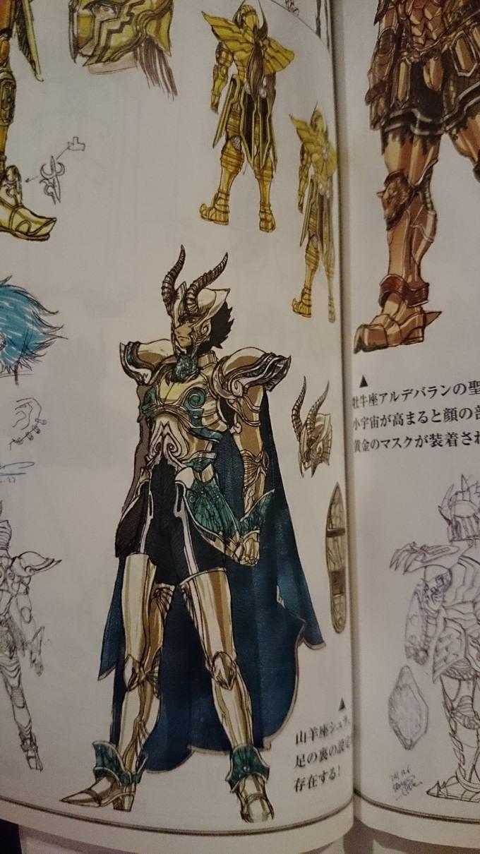 Artbook Saint Seiya Legend of Sanctuary Ia6QxXGN