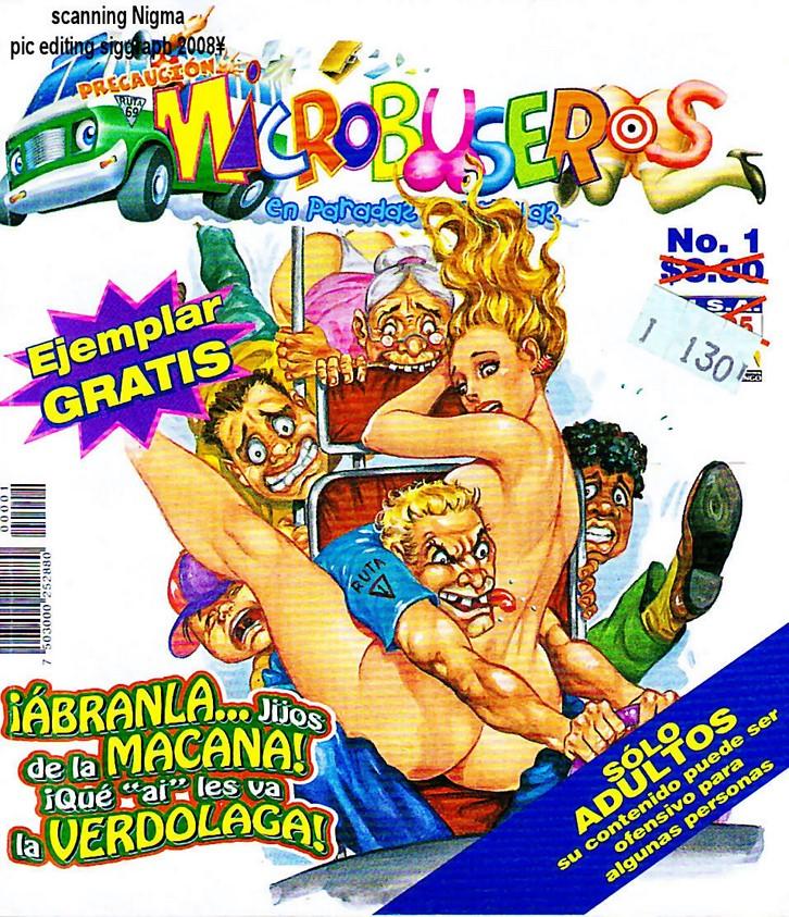 Fotonovela porno Microbuseros 1