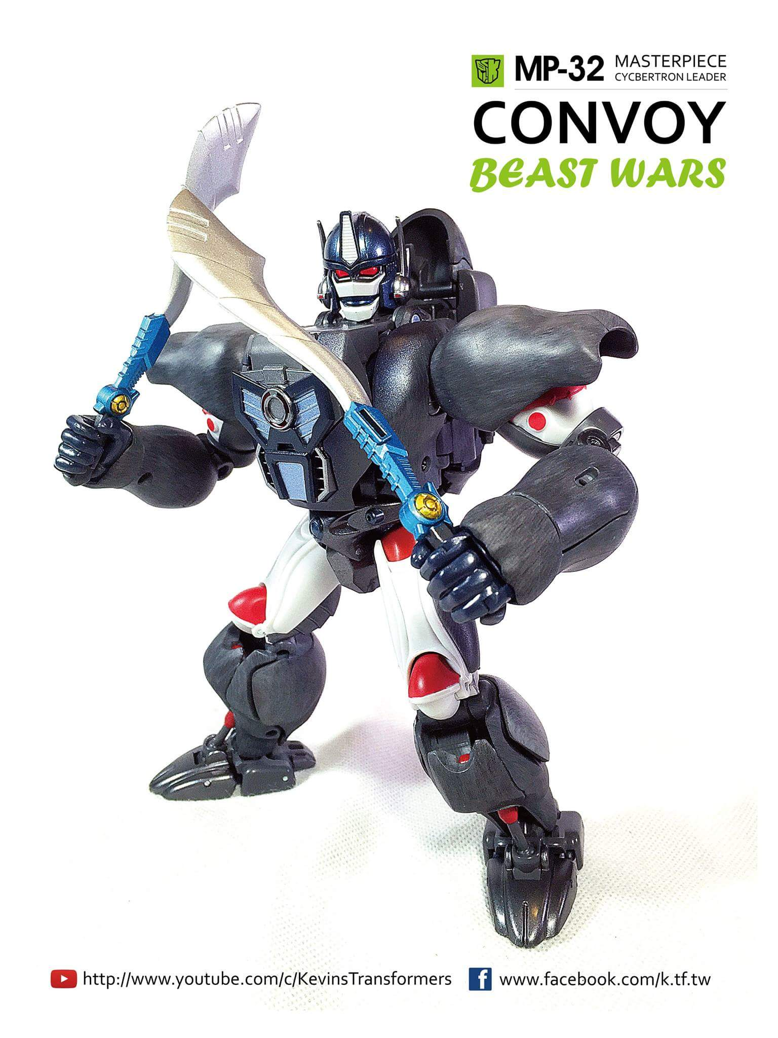 [Masterpiece] MP-32, MP-38 Optimus Primal et MP-38+ Burning Convoy (Beast Wars) - Page 3 J5Br0L2e