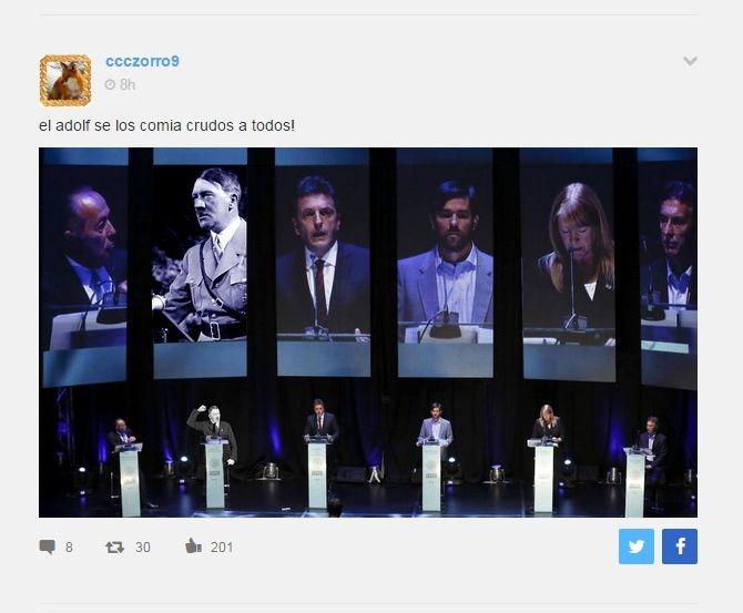 Shouted En Taringa: Los Shout Del Debate De Anoche