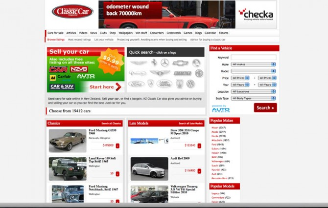 Classic Cars Old Cars On Craigslist For Sale Under 1000