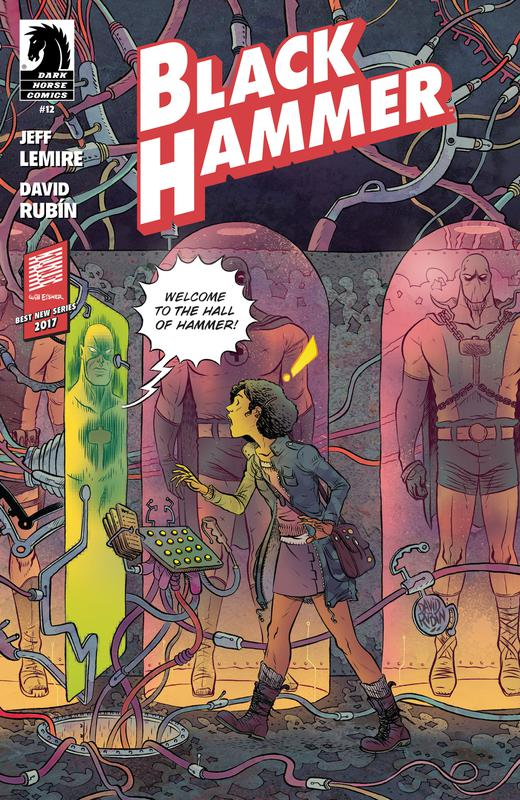 Black Hammer #1-13 + Annual (2016-2017) Complete