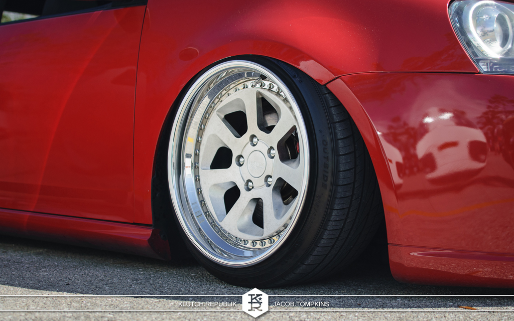 red bagged mk5 rotiform wheels