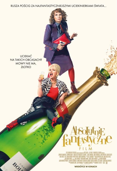 Absolutnie fantastyczne: Film / Absolutely Fabulous: The Movie (2016)  PL.BDRip.Xvid-KiT / Lektor PL