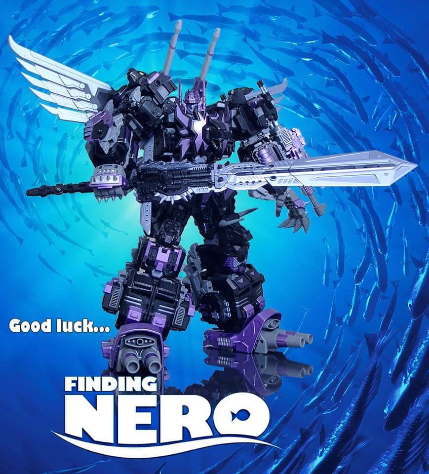 [Mastermind Creations] Produit Tiers - Feral Rex (aka Prédacons G1) + R-20N Nero Rex (aka Prédacons Noir) - Page 3 HCt0QMrn