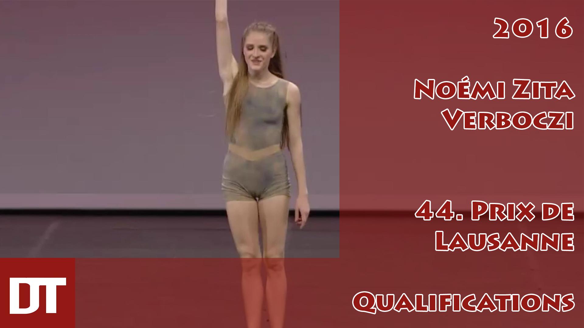 2016 – Noémi Zita Verboczi – 44. Prix de Lausanne – Qualifications