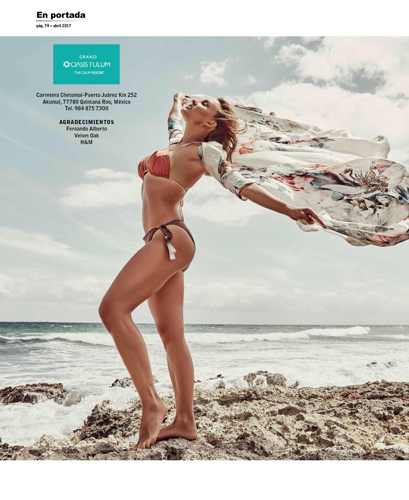 Angelique Boyer Open Mexico Abril 2017 | the4um.com.mx