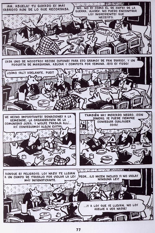 Art Spiegelman - Maus, tomo I.