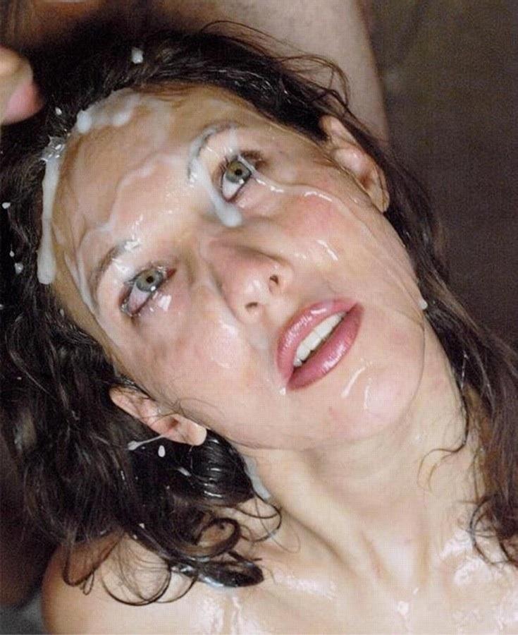Сперма на лице картину