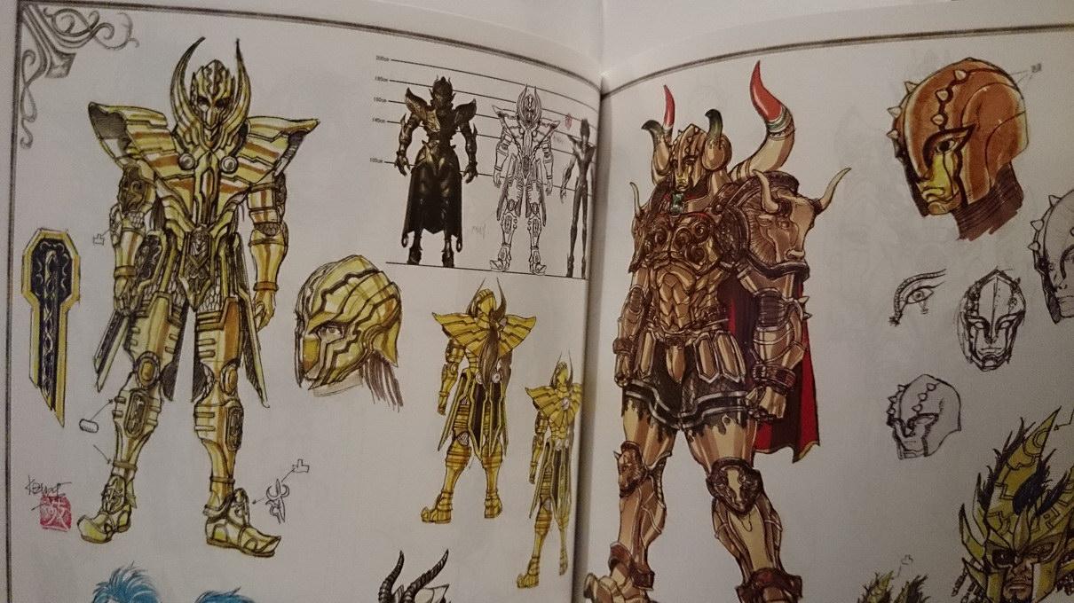 Artbook Saint Seiya Legend of Sanctuary IgvG40aq