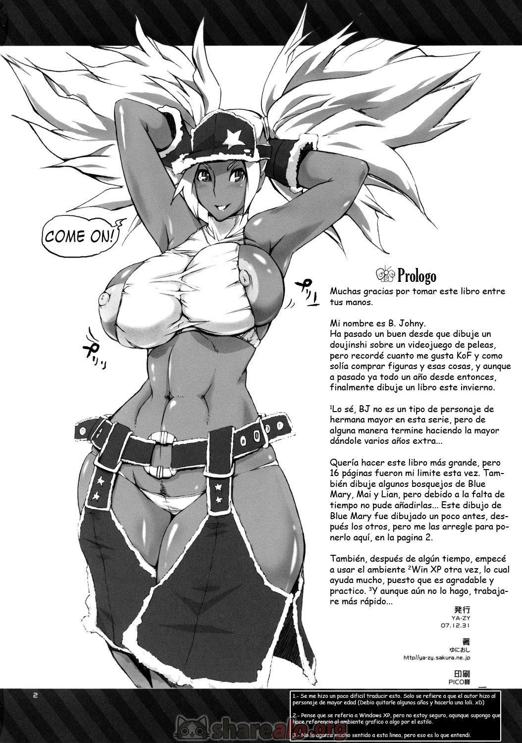 [ Futeki na Chikyuu sen Dokuro gou (King of Fighters) ]: Comics Porno Manga Hentai [ 7aGsrHO8 ]