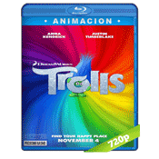 Trolls (2016) BRRip 720p Audio Trial Latino-Castellano-Ingles 5.1