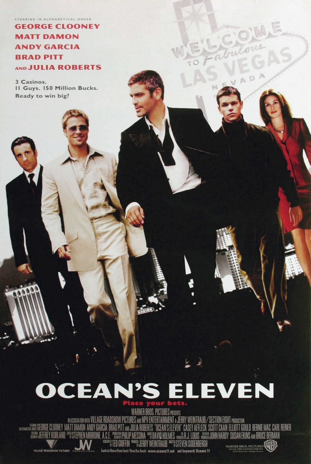 Ocean s eleven 2001 joel watches movies for Le chiffre 13 film