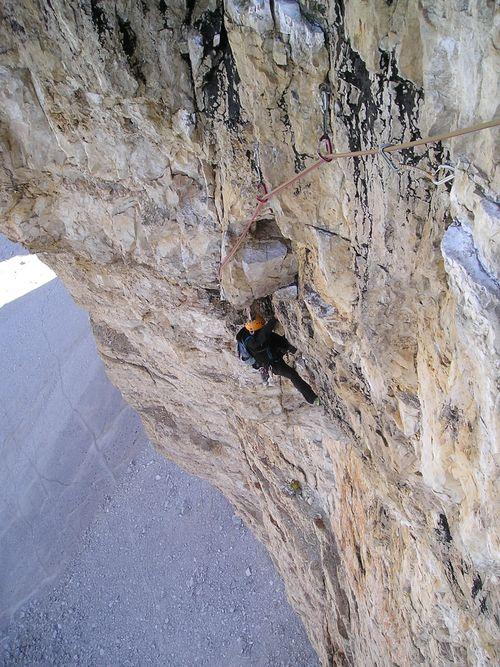 Climbing Dolomites