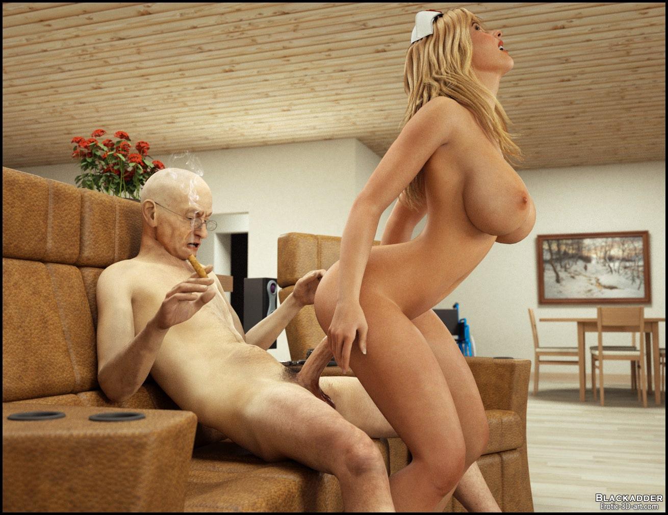 Смотреть онлайн порно медсестры со стариками бесплатно 15 фотография