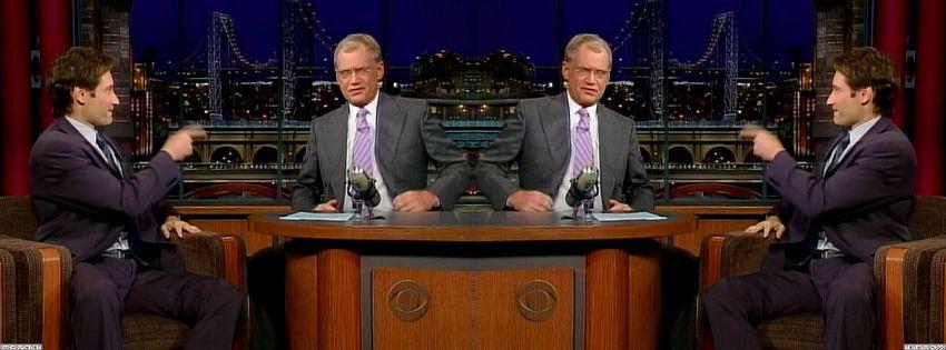 2003 David Letterman PKW88Crd