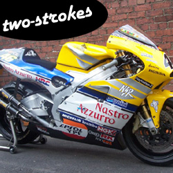 Two-stroke motorcycles