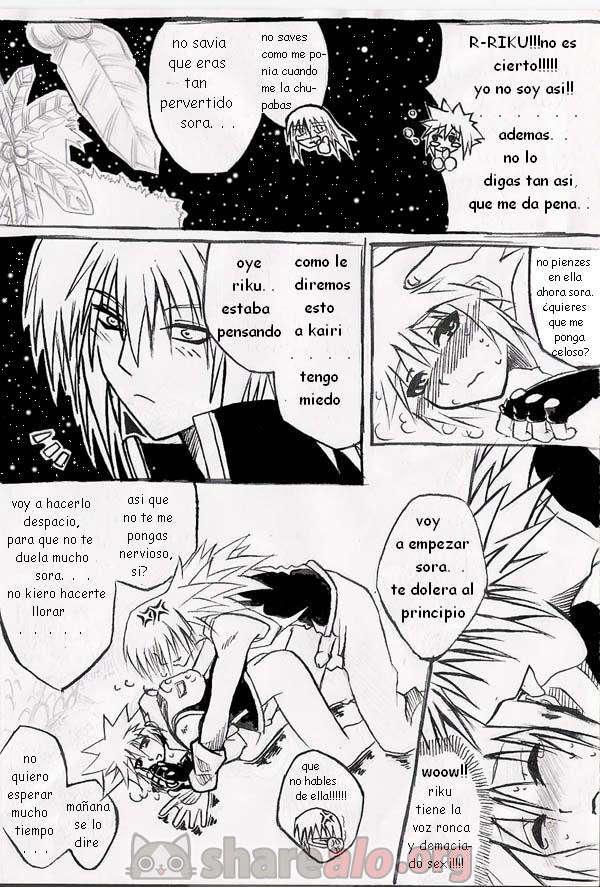 [ Unknown Kingdom Hearts Yaoi Doujin (Sora y Riku Sexo Caliente) ]: Comics Porno Manga Hentai [ R4hEFFOm ]