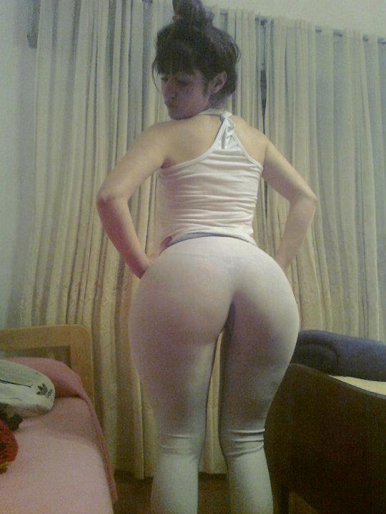 Cogiendo el culote gordo de mi mujer de perritoy su cintura - 2 part 4