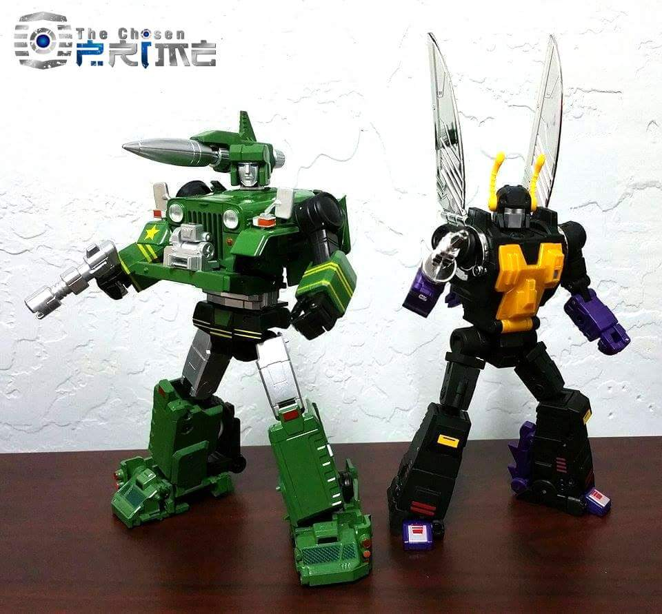 [Fanstoys] Produit Tiers - Jouet FT-12 Grenadier / FT-13 Mercenary / FT-14 Forager - aka Insecticons - Page 3 DadF8UN4