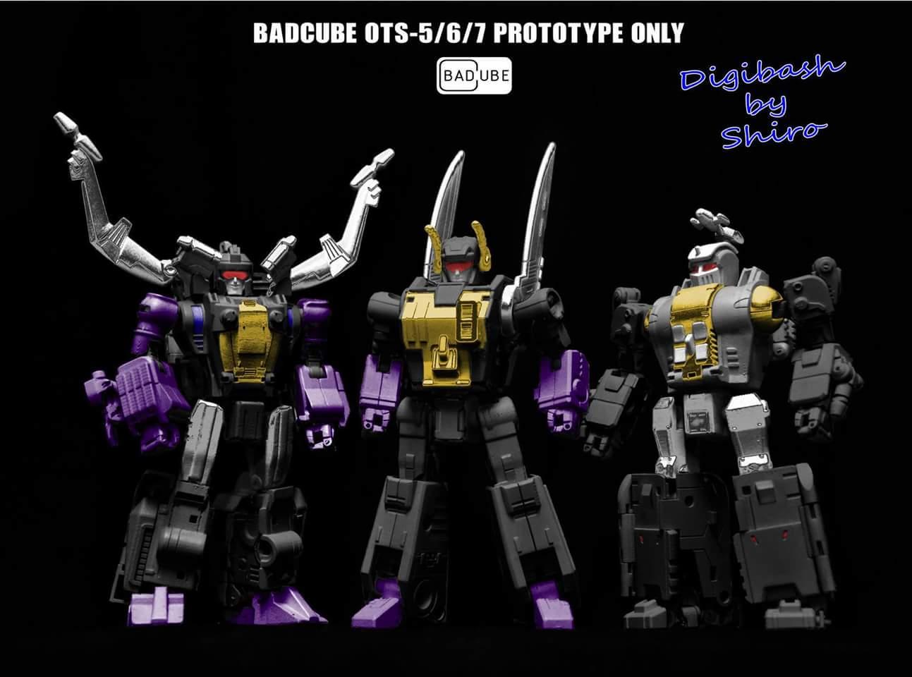 [BadCube] Produit Tiers - Jouet OTS-05 Claymore / OTS-06 Hypno / OTS-07 Kickbutt - aka Insecticons B7lySpdu