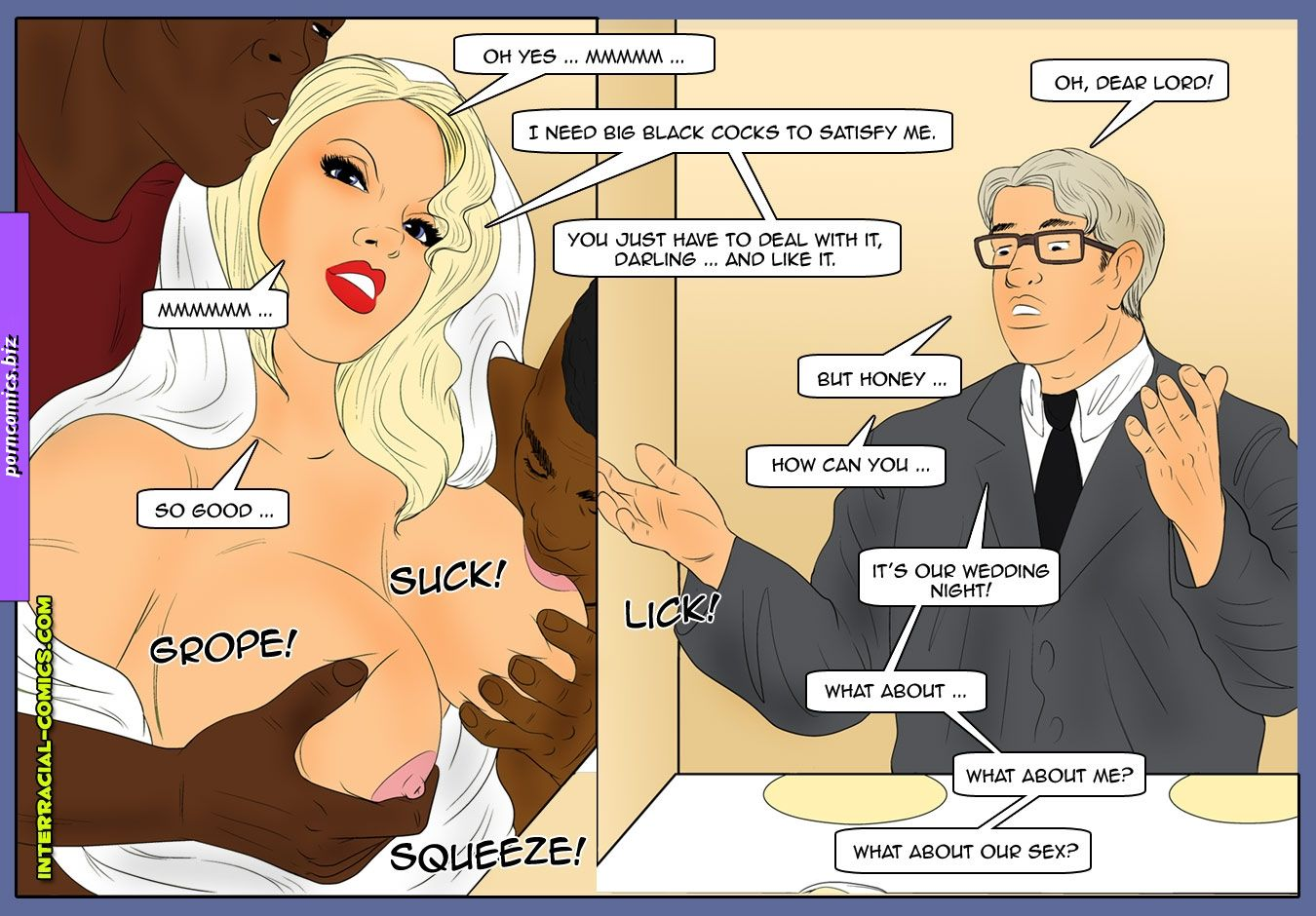 surprise interracial sex