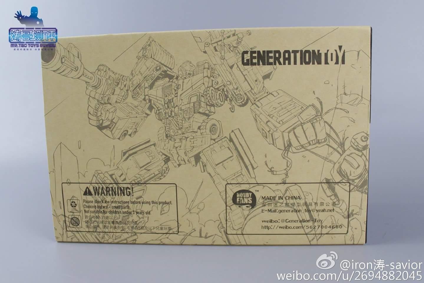[Generation Toy] Produit Tiers - Jouet GT-01 Gravity Builder - aka Devastator/Dévastateur - Page 4 UnIaer94
