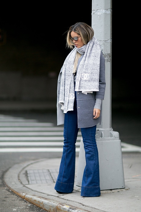 how to wear flared jeans, pic 10