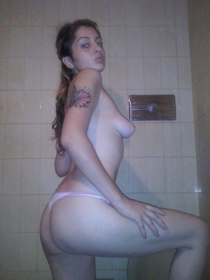 Black girl with big boob