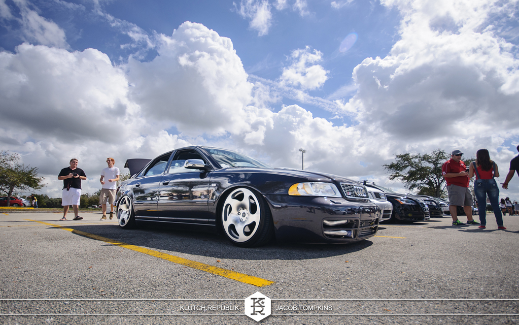 bagged audi a4 intercooler s4