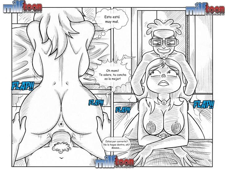Американский папаша порно комикс