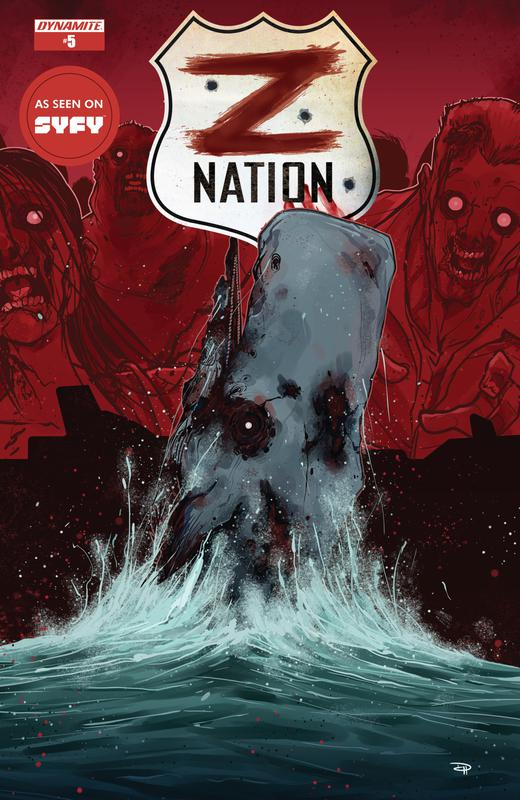 Z Nation #1-6 (2017) Complete