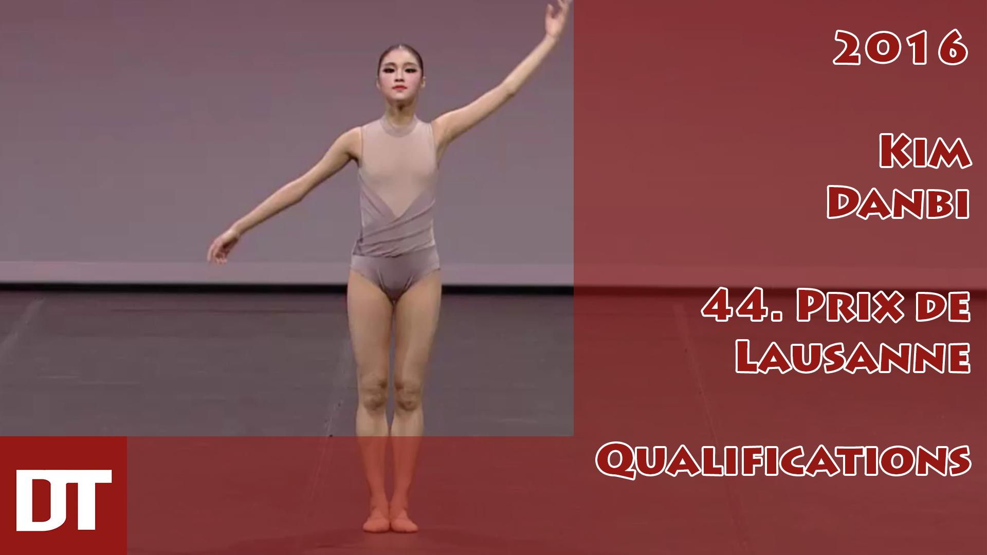 2016 – Kim Danbi – 44. Prix de Lausanne – Qualifications