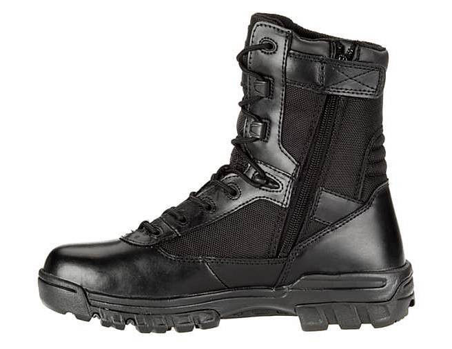 Bates® Black 8'' Tactical Police Duty Military Boot with ... - photo #39