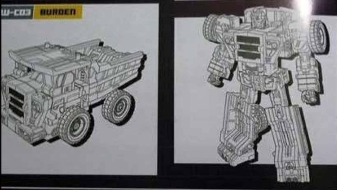 [Toyworld] Produit Tiers - Jouet TW-C Constructor aka Devastator/Dévastateur (Version vert G1 et jaune G2) Lhb1FOta