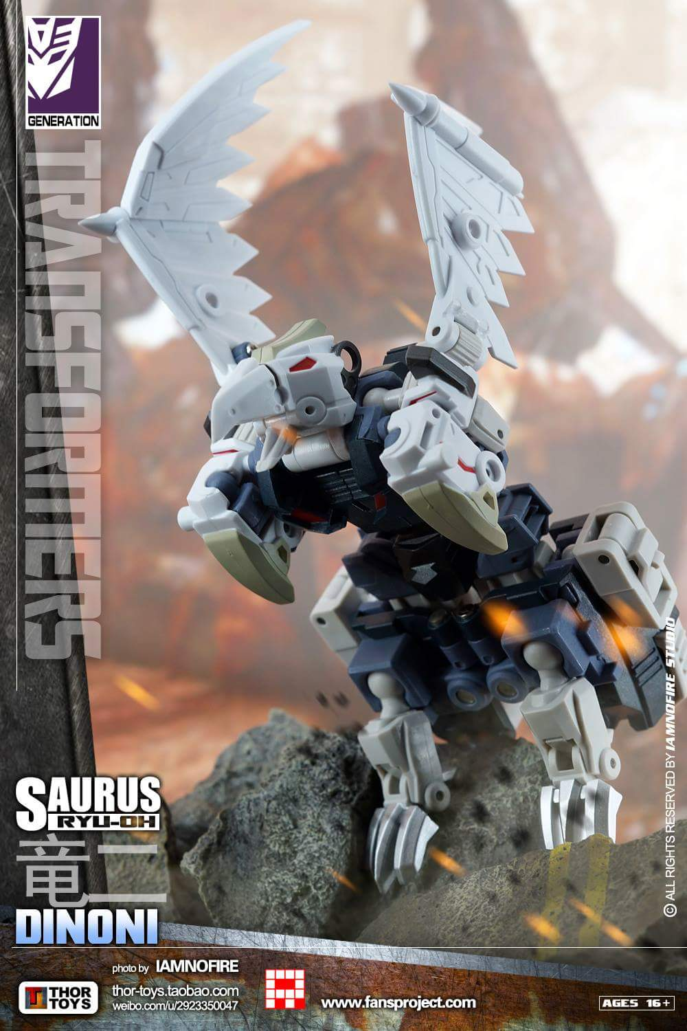 [FansProject] Produit Tiers - Jouet Saurus Ryu-oh aka Dinoking (Victory) | Monstructor (USA) - Page 2 BXF9HvRS